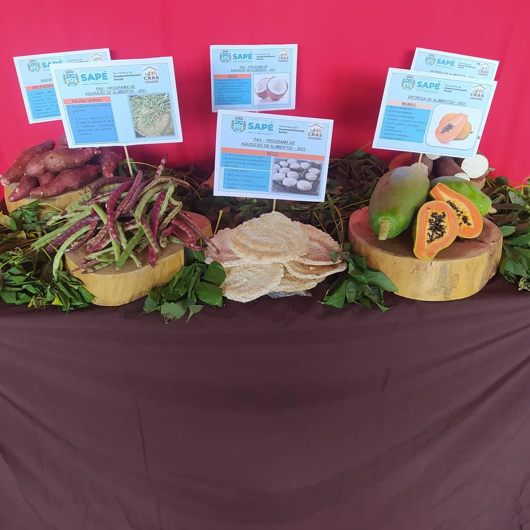 Prefeitura distribui alimentos a 337 famílias de Sapé