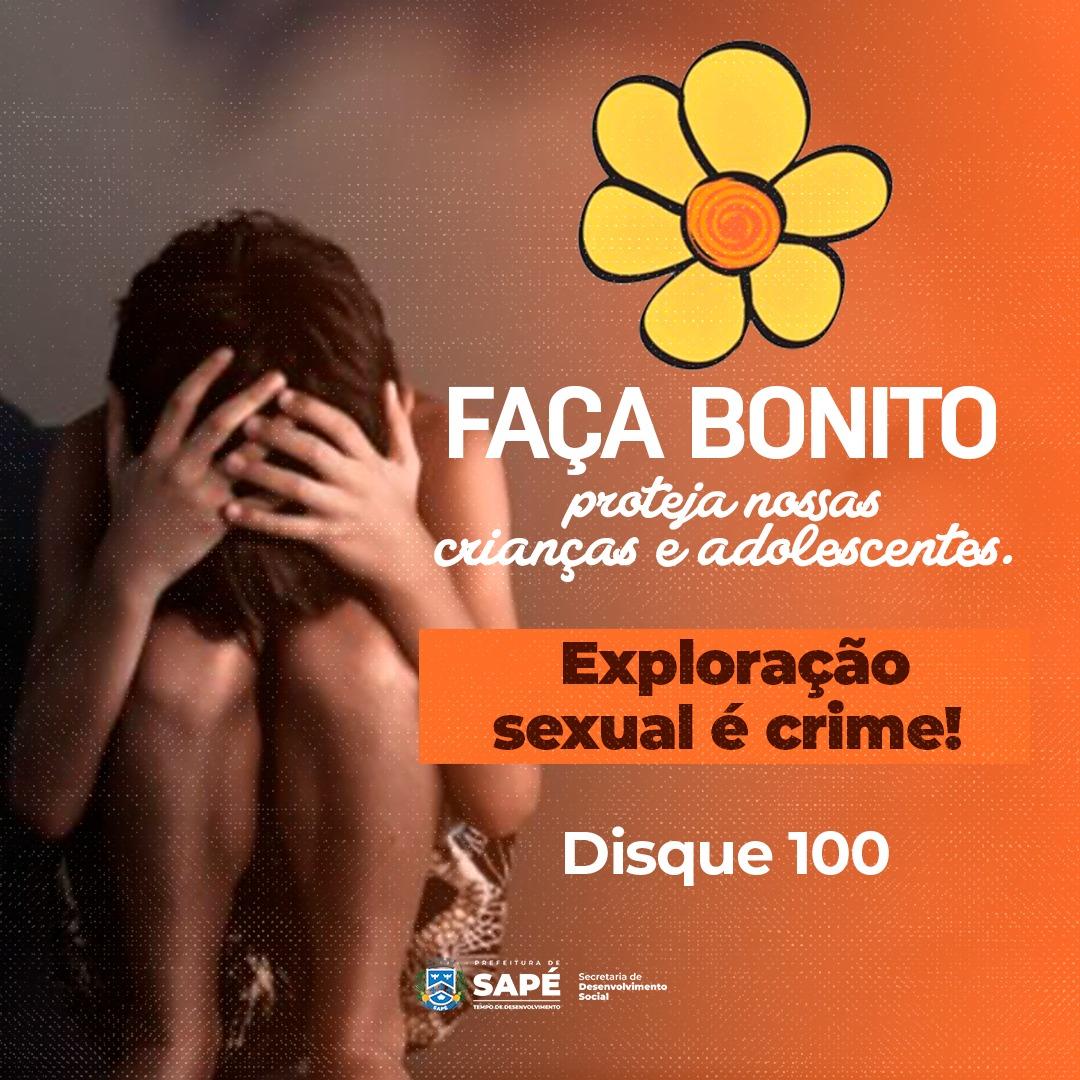 Prefeitura lança campanha contra abuso sexual infantil em Sapé e alerta população sobre denúncias
