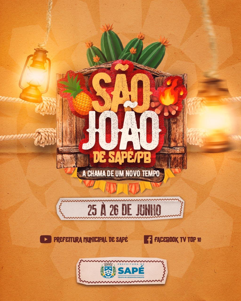 Onze atrações locais participam de live 'Vozes da Terra' no São João 2021 de Sapé