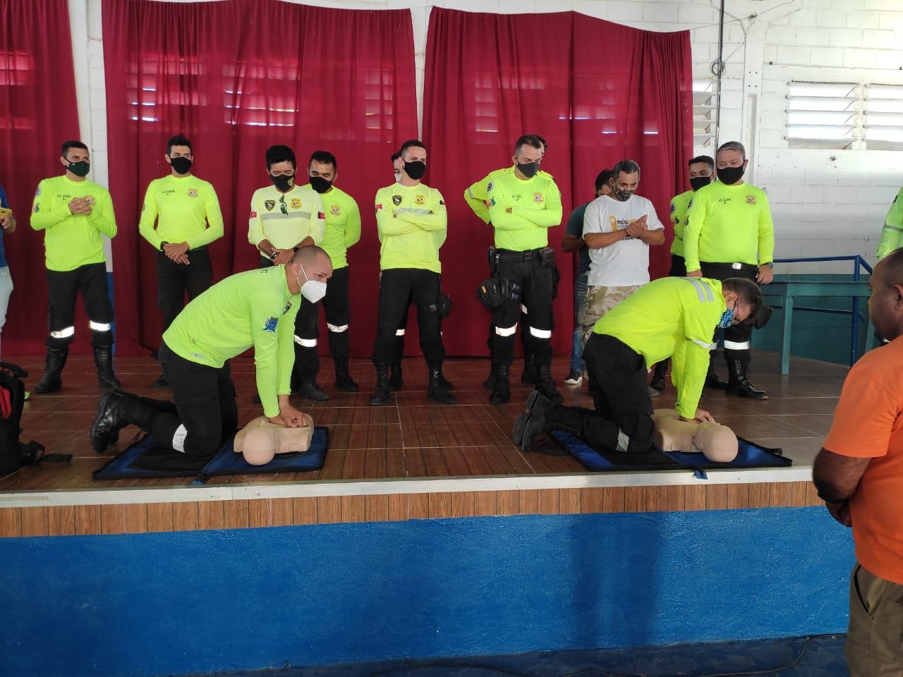 Servidores de Sapé recebem treinamento para atendimentos de emergência