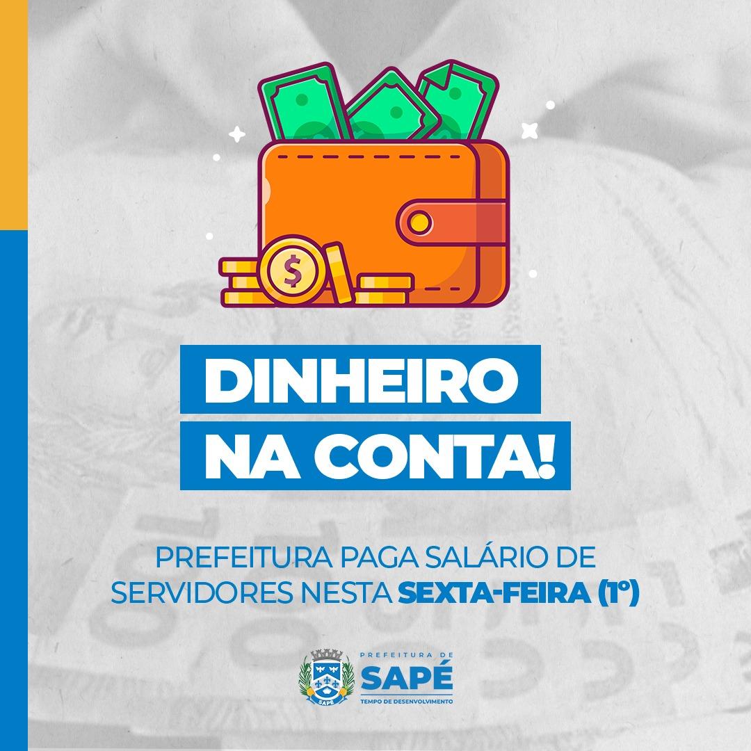 Suplementação é enviada ao Executivo de Sapé e garante pagamento da folha de pessoal